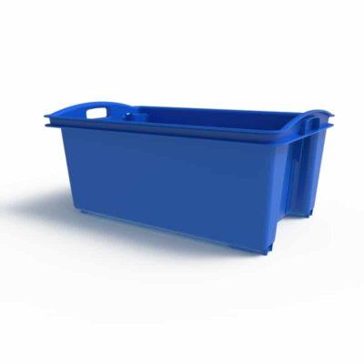 55 Litre Fish Crate Blue