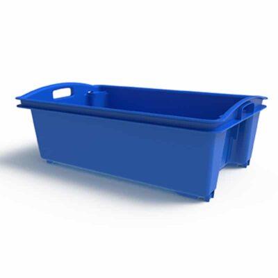 35 Litre Fish Crate Blue