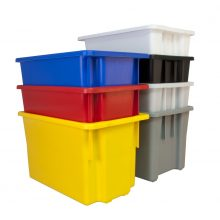 Coloured Plastic tubs