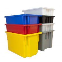 Coloured Plastic tubs