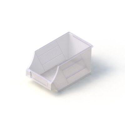 PLastic Tech Storage Bin white