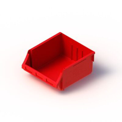 24 litre Tech Bin red