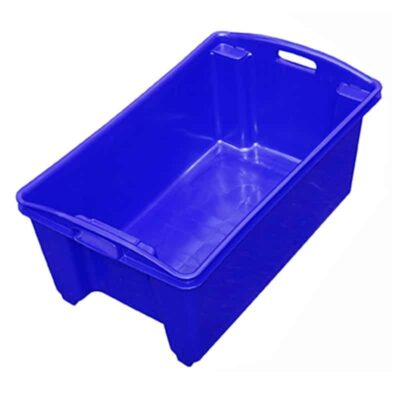 Above AP12 Blue Fish Crate