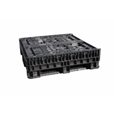 Collapsible Pallets closed position
