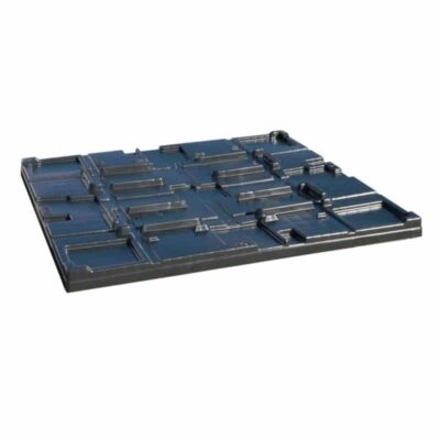 Bin Lid for Collapsible Pallet