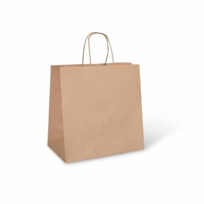 Large Brown Food Carry Bag