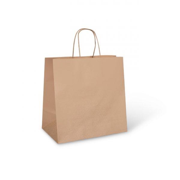 Large Brown Food Carry Bag